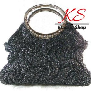 Black color handbags alluring touch of silver or gold